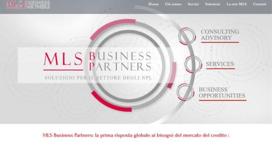 MLSBP MLS Business Partners Soluzioni per il settore degli NPL e il Business.