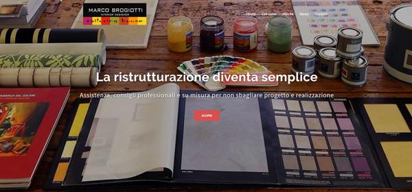 Il sito web di un designer industriale e di interni for Siti design interni