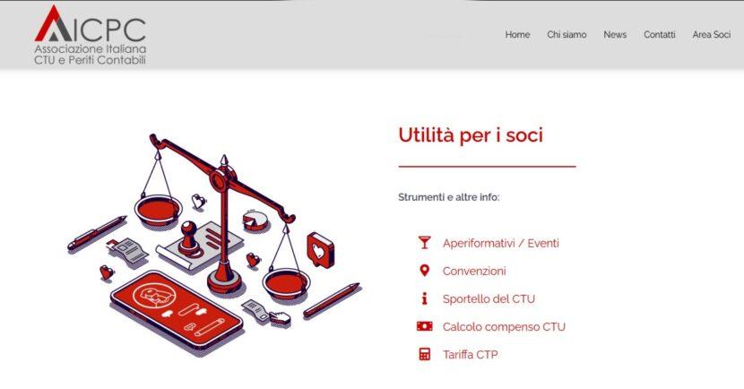 Sito web AICPC